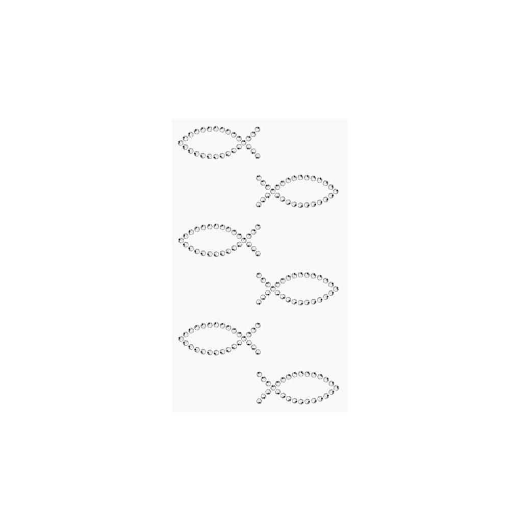 Sticker Fische 6 Stück Bild 1