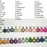Perlenarmband mit Wunschtext + Schutzengel *Trauzeugin, Braut, Brautjungfer... Bild 8