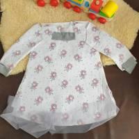 Rundum-sorglos Nähset Kleid Linda, weiße Feen Jersey, diverse Größen, DIY Paket Bild 1
