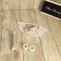 Rundum-sorglos Nähset Kleid Linda, weiße Feen Jersey, diverse Größen, DIY Paket Bild 3