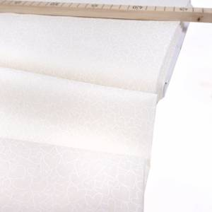makower Essentials 30 sku´s Hearts White 1909 W1 0,5 m Bild 1