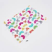 Süßer Geschenkbeutel mit Schmetterlingen Frühling, Ostern, b 30 x h 21 cm Bild 2