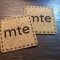 Korklabel mit deinem Logo / Schriftzug bis 100x100mm Bild 1