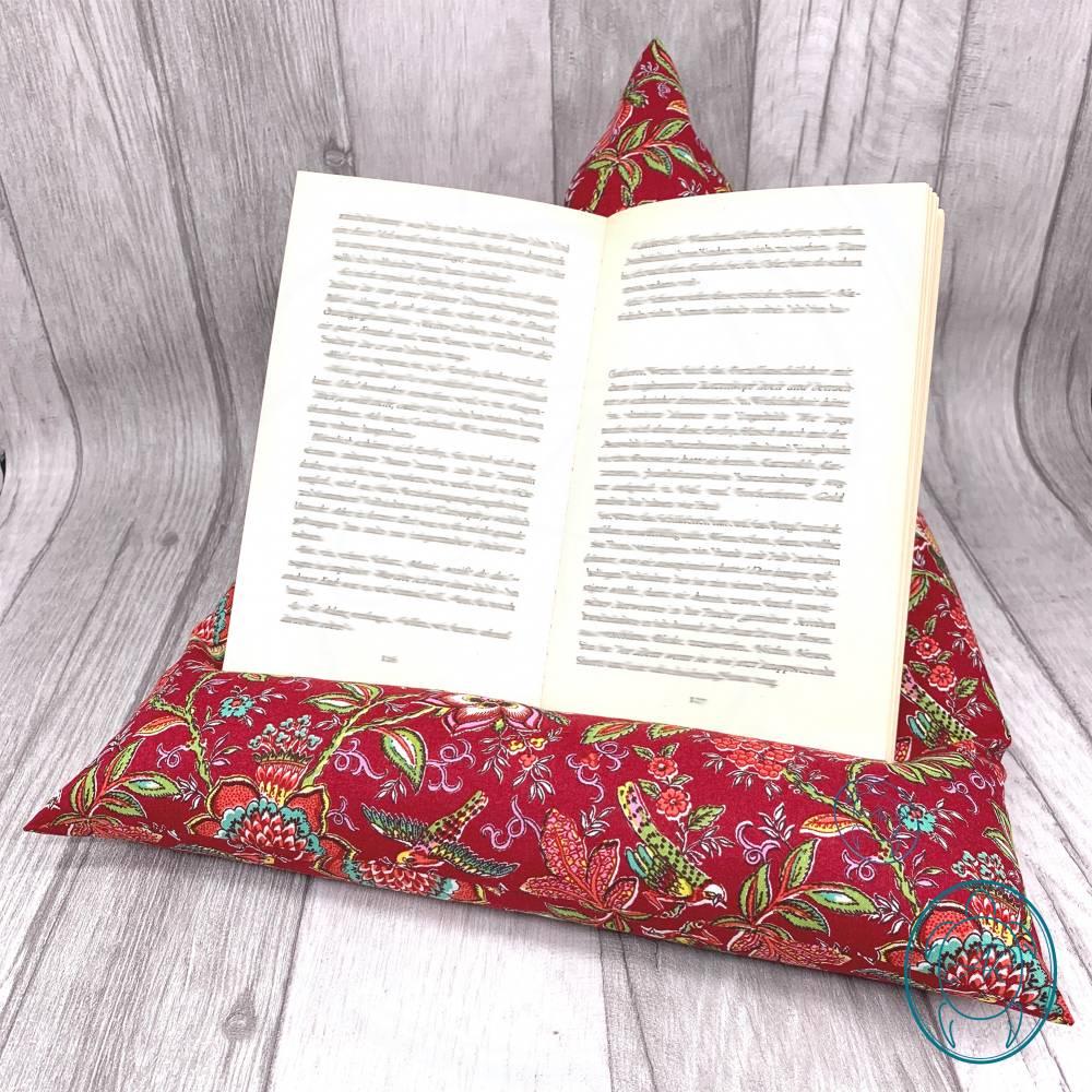 Lesekissen // Tabletkissen // Buchstütze // Geschenkidee // Produkt der Provence Bild 1