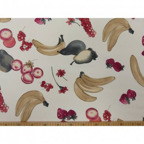 Deko Druck, Canvas Obst Überbreite 2,80 m  (1m /10,00€)