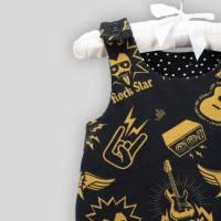 Baby Strampler Rock Star mit Druckknöpfen Bild 5