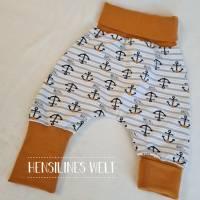Klumpfüße - Hosen, die passen, mit extrabreitem Bündchen, Design: Anker Bild 1