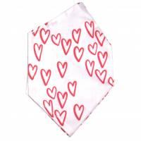 """Überzug für FFP2 Maske """"Hearts"""" - einlagig - 100% Baumwolle - Waschbar - Stoffhülle - Stoffüberzug Bild 2"""