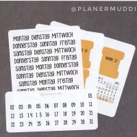 Planersticker-Set 2. Quartal M Bild 1