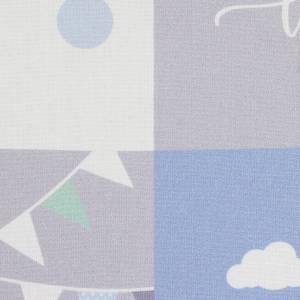 12,90EUR/Stück Webware Panel Welcome little one DIY blau Bild 5