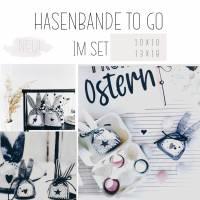 Stickdatei  Hasenbande to go 10x10 & 13x18 im SET! Bild 1