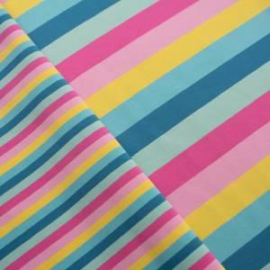 15,90EUR/m Gala Jersey Streifen Eiscremfarben rosa gelb türkis Bild 6