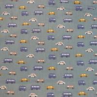 2 x 0,5m Stoffpaket, Autos Luigi, Pünktchen Piselli, Kinderstoff Bild 6