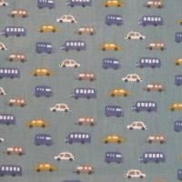 2 x 0,5m Stoffpaket, Autos Luigi, Pünktchen Piselli, Kinderstoff Bild 7