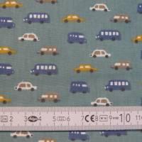 2 x 0,5m Stoffpaket, Autos Luigi, Pünktchen Piselli, Kinderstoff Bild 9