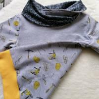 Gr. 116 Hoodie Pullover mit Bagger – Jungs Bild 2