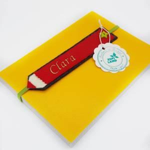 Lesezeichen mit Wunschnamen personalisiert, Einschulung 2021 Mädchen Junge, Schulkind 2021, Kindergeburtstag Bild 5