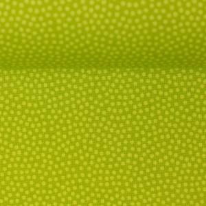 10,90EUR/m Webware Dotty unregelmäßige Punkte auf kiwigrün Bild 3