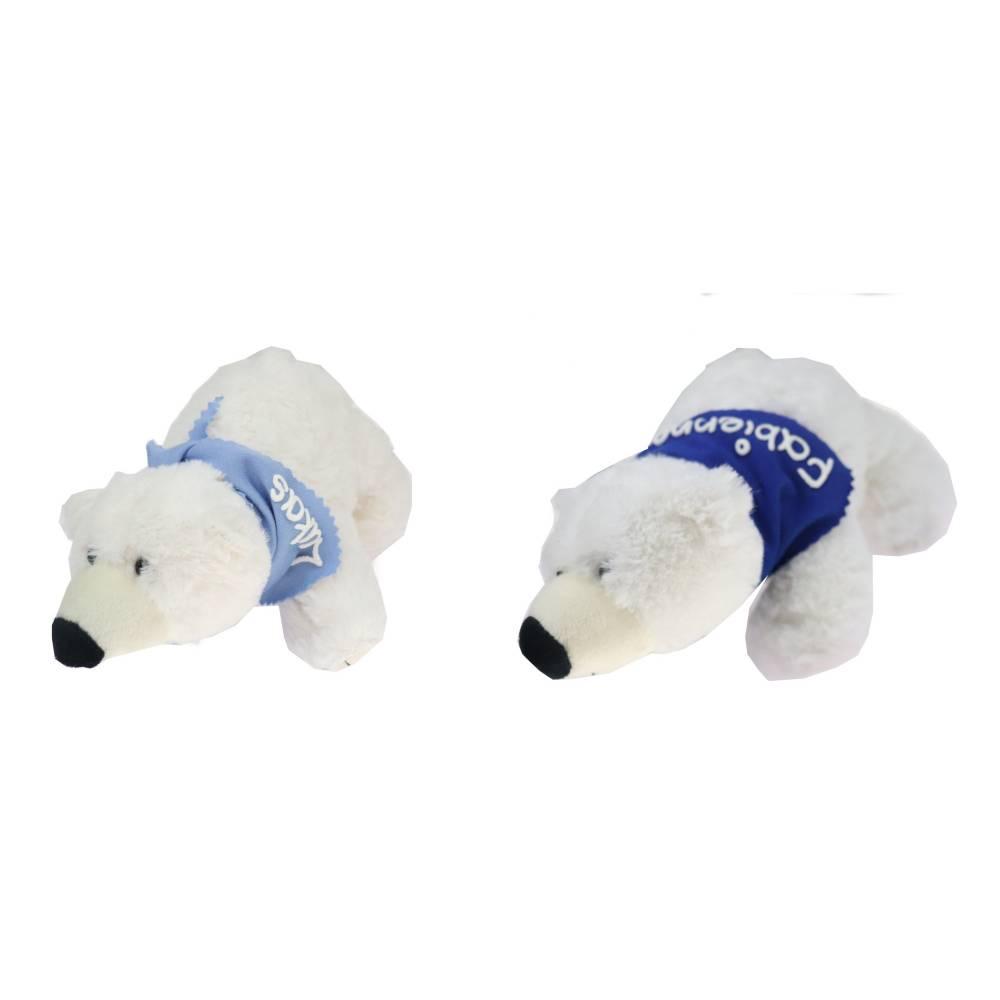 Kuscheltier Eisbär 20cm weiß mit Namen am Halstuch - Personalisierte Schmusetiere für Jungen und Mädchen  Bild 1