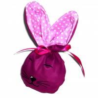 Bunny Bag Gr. S, Lila 1 mit Wunschname - Beutel für Ostergeschenke - Geschenkverpackung - Geschenkbeutel - Ostern Bild 1