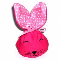 Bunny Bag Gr. S, Pink 1 mit Wunschname - Beutel für Ostergeschenke - Geschenkverpackung - Geschenkbeutel - Ostern Bild 1