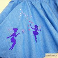 Jeans - Tellerrock für Kinder FEEN Bild 2