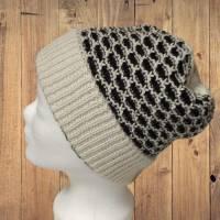 Alpaka Mütze mit Muster Bild 1