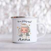 Personalisierte Tasse mit Namen Jungen Mädchen Schutzengel  Bild 3