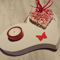 Teelichthalter Herz Bild 1