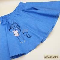 Jeans - Tellerrock für Kinder GIRLIE Bild 1