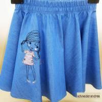 Jeans - Tellerrock für Kinder GIRLIE Bild 2