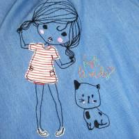 Jeans - Tellerrock für Kinder GIRLIE Bild 3