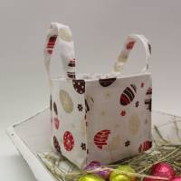 Osternest Osterhase mit Geschenkanhänger Bild 5