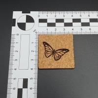 Korklabel Schmetterling Bild 3