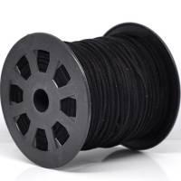 3 Meter / Veloursband / 3 mm / schwarz / E1-0355 Bild 1