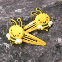 Bienen Haarklammern Haarschmuck  kawaii Bild 1