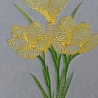 Ostern Krokus 12 x 16 cm Bild 1