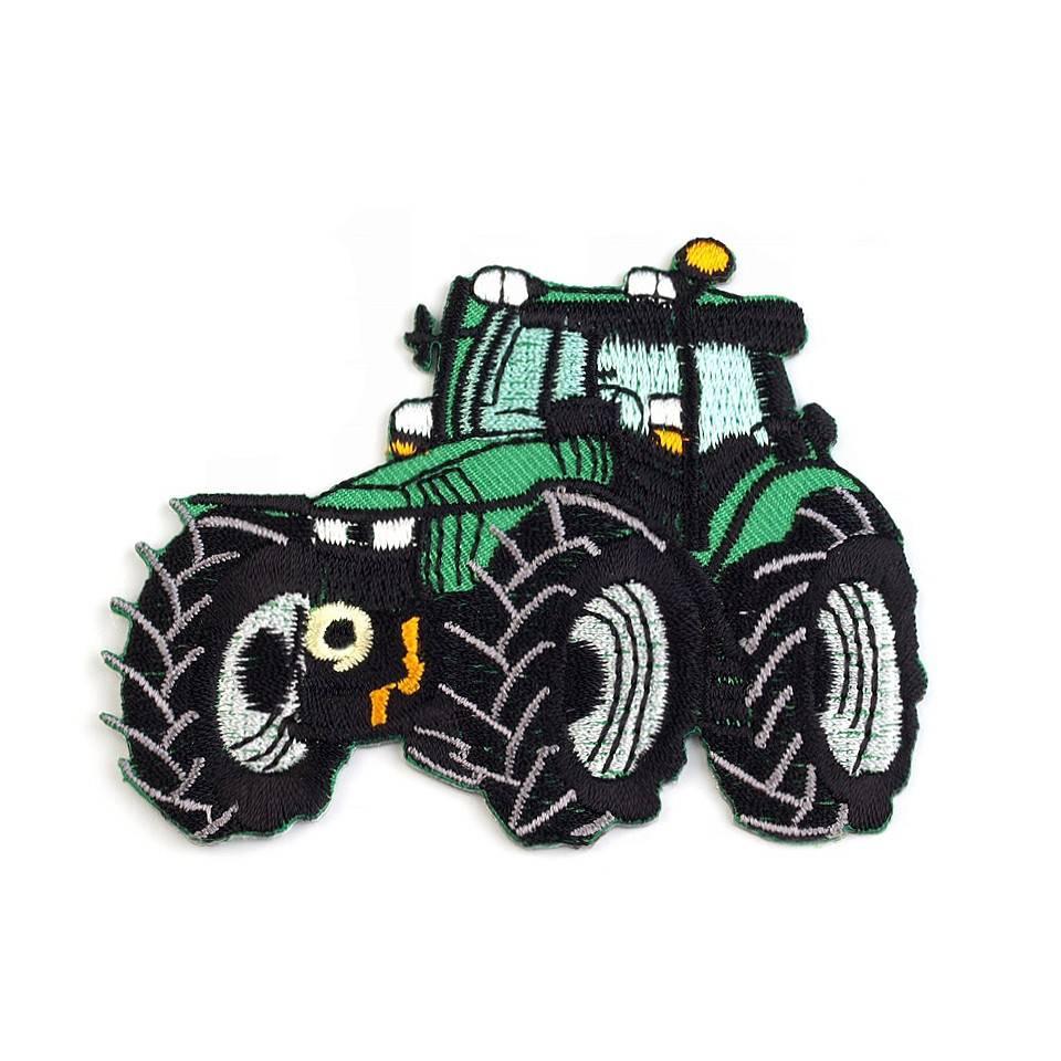 Aufnäher Applikationen Bügelbild Traktor Trekker Bulldog 8 x 6,5 cm( 1 Stück/2,50 €) Bild 1