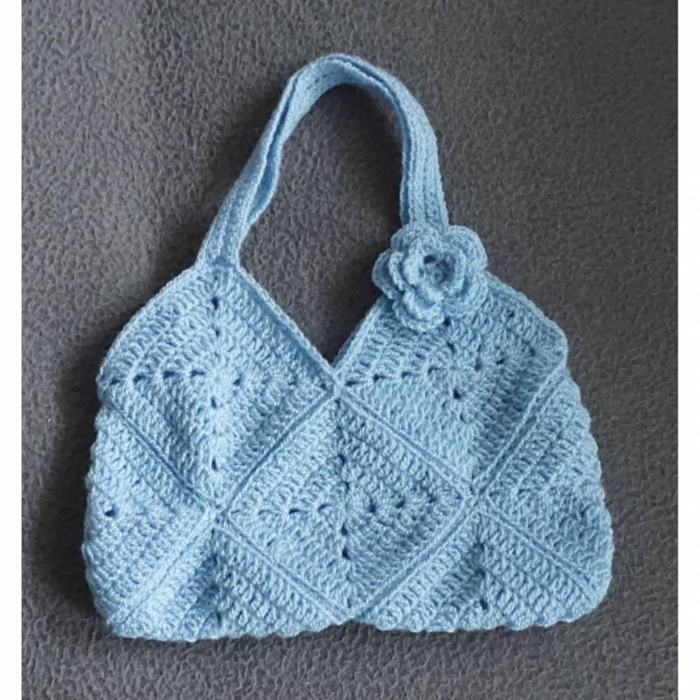 Tasche  Umhängetasche  Kindertasche  Damentasche  amigoll9  Handarbeit Bild 1