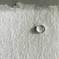 6 Bogen weißes, handgeschöpftes Papier, ca. 30 cm x 30 cm, quadratisches Büttenpapier, Malpapier, Künstlerpapier Bild 3