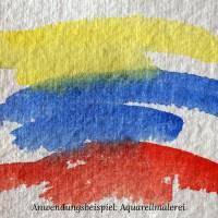 6 Bogen weißes, handgeschöpftes Papier, ca. 30 cm x 30 cm, quadratisches Büttenpapier, Malpapier, Künstlerpapier Bild 4