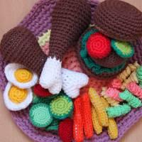 Zubehör für Kinderküche und Kaufladen, Set Bild 1