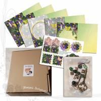 DIY-Starter-Kit für Junk-Journals *Garden003*, keine Versandkosten Bild 1