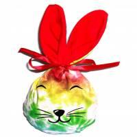 Bunny Bag Gr. S, Regenbogen mit Wunschname - Beutel für Ostergeschenke - Geschenkverpackung - Geschenkbeutel - Ostern Bild 1