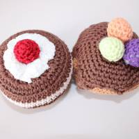Zubehör, Süßes für Kaufladen oder Kinderküche, 6-teilig plus Körbchen Bild 2