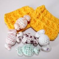 Zubehör, Süßes für Kaufladen oder Kinderküche, 6-teilig plus Körbchen Bild 4