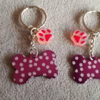 Schlüsselanhänger Hundekknochen Bild 1