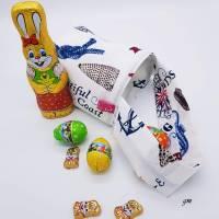 Geschenkbeutel nicht nur für Ostern, Stoffbeutel für kleine Geschenke, kleine Stofftasche,  h 16 x b 20 cm Bild 3