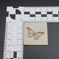 Kunstlederlabel Schmetterling Bild 6