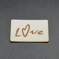 Kunstlederlabel Love Bild 4